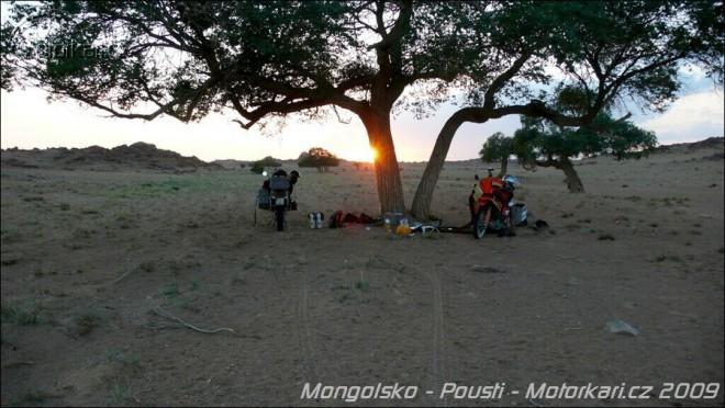 Mongolsko - Pouští