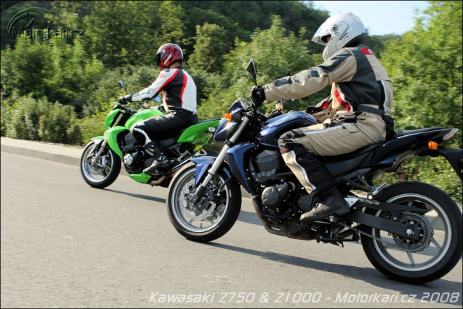 Kawasaki Z750 vs. Z1000