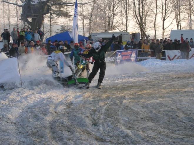 MOTOTIP FUCHS OIL Cup v motoskijöringu - Nové Dvory
