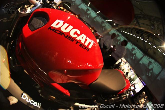 O neúèasti Ducati na výstavì MOTOCYKL 2009