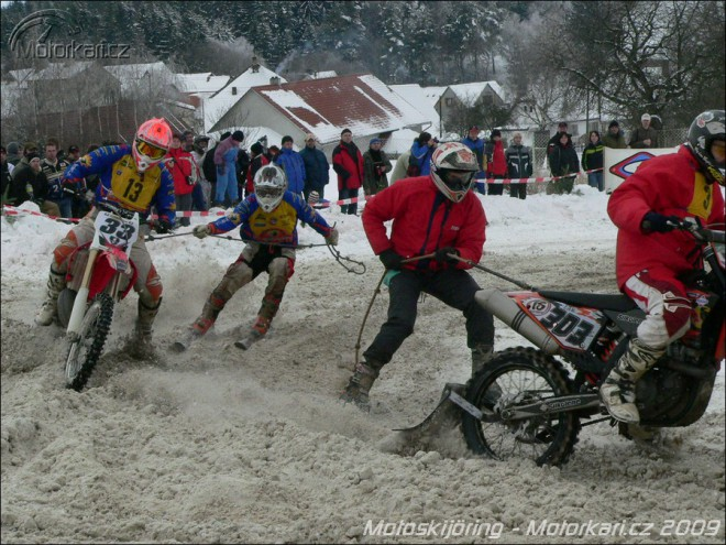 Motoskijöring Rodná, 17.1.2009