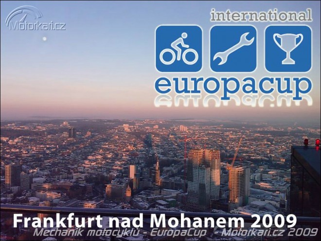 Sout� mechanik motocykl� - EuropaCup