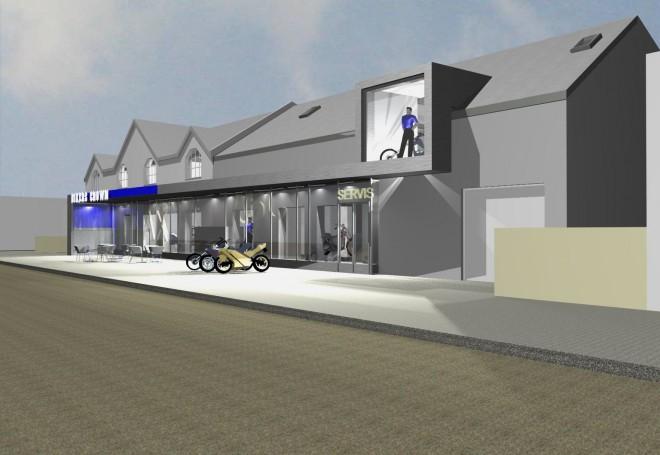 Bikers Crown renovuje v Chlumci