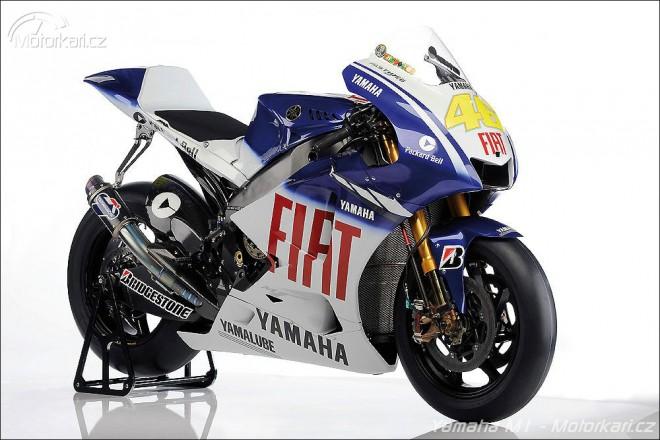 Yamaha YZR-M1 pro sezónu 2009