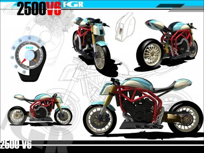 Finále soutìže Design FGR 2500 V6