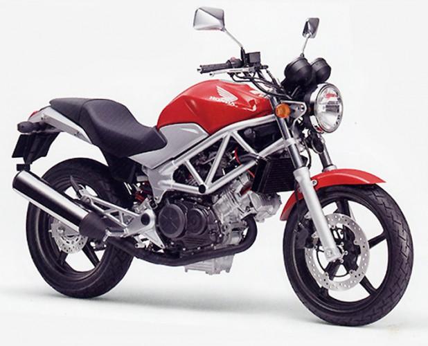 Nová Honda VTR250 pro Japonsko