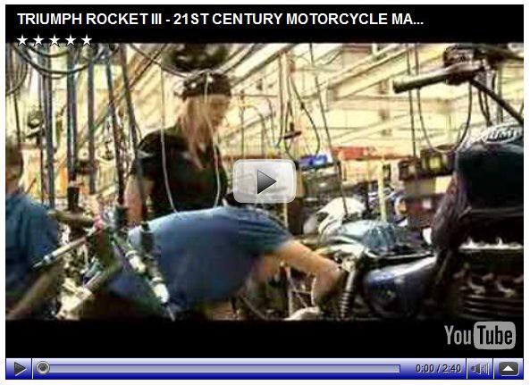 Jak se vyrábí Triumph Rocket III