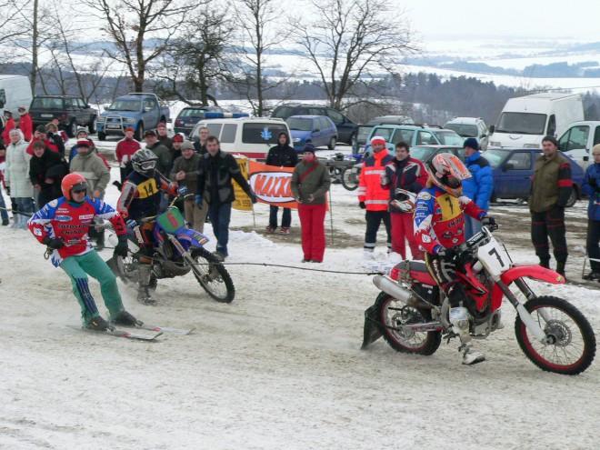 Motoskijöring Bendovo Záhoøí