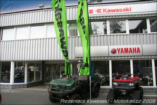Prezentace Kawasaki 2009 na Vrbovce