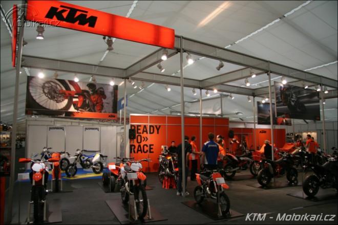 Motocykl 2009 - KTM a Husaberg