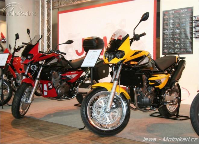 Motocykl 2009 - Jawa
