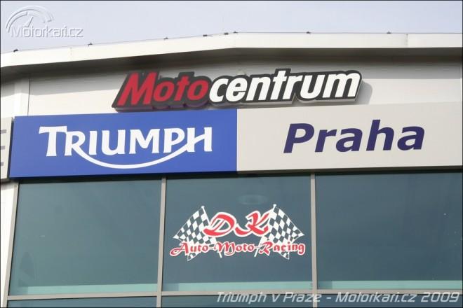 Nové zastoupení Triumph