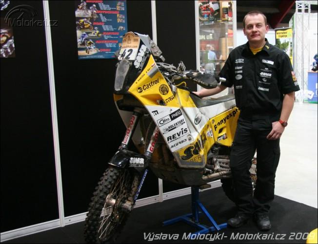 Rozhovor s Davidem Pabiškou na výstavì Motocykl