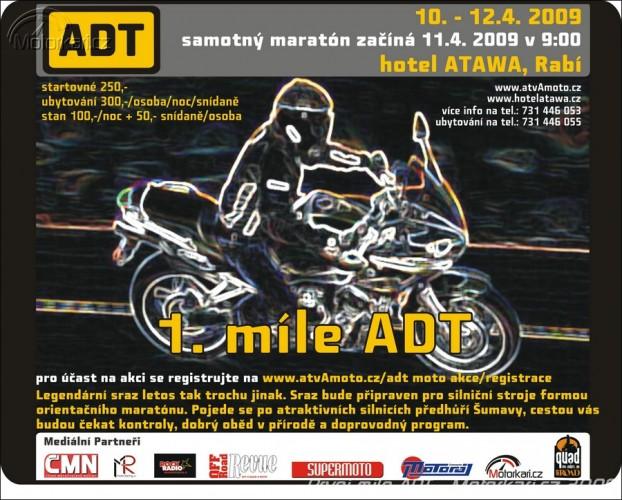 Pozvánka na 1. míli ADT