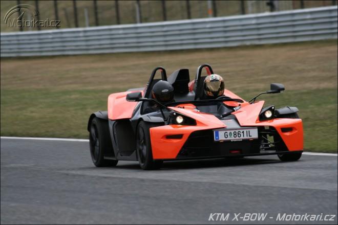 Projížïka v KTM X-BOW v Mostì