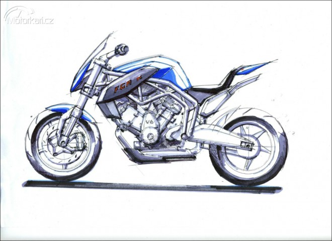 Vítìz soutìže o design FGR 2500 V6