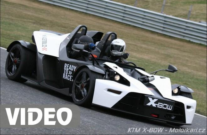 Svezení v KTM X-BOW