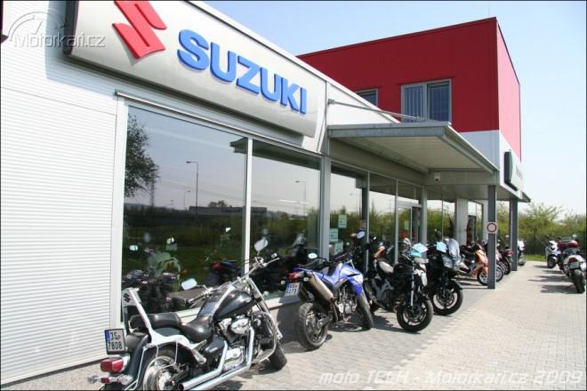 Suzuki v Mladé Boleslavi