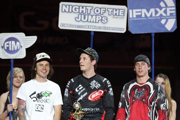 Night  of the Jumps, Basel (Švýcarsko) – Podmol vyhrál