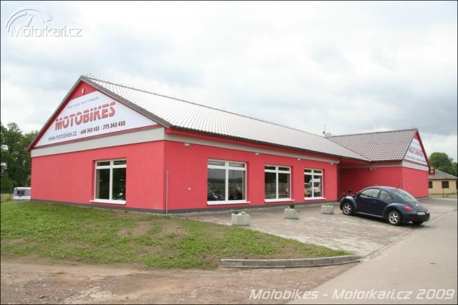 Nové centrum Motobikes