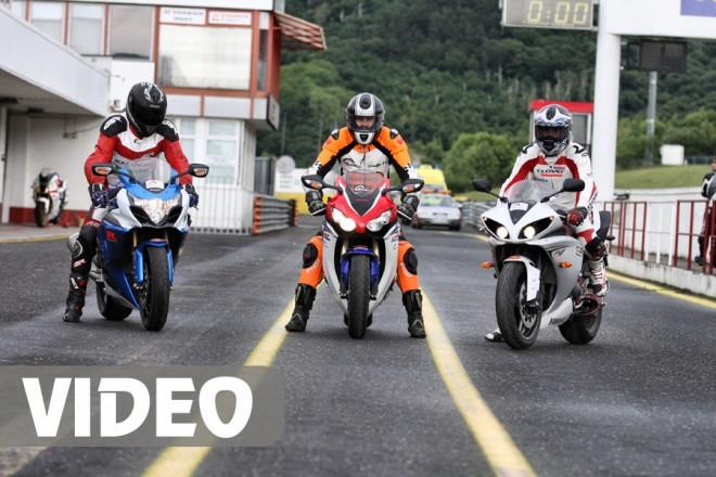 Honda CBR1000RR vs Suzuki GSX-R1000 vs Yamaha YZF-R1