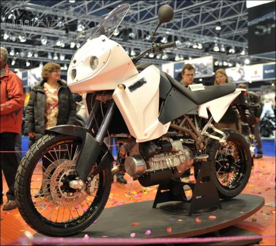 Dieselový motocykl T-800 CDi