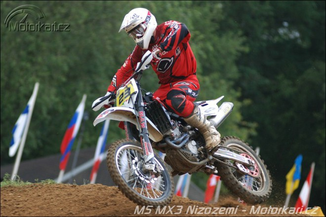MS MX3 Nizozemí – Zlomený malíèek Martina Žeravy