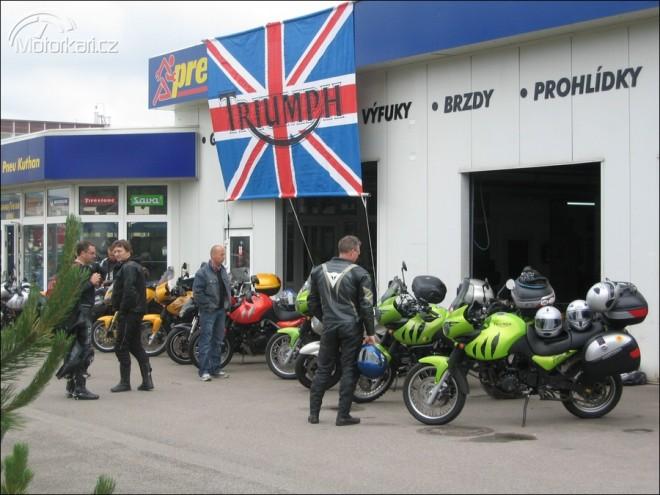 Triumph motosraz 2009