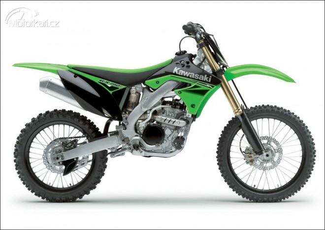 Nové modely cross Kawasaki pro 2010