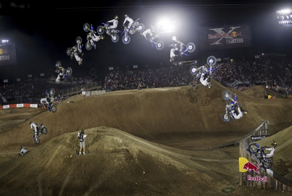 Double backflip na Red Bull X-Fighters
