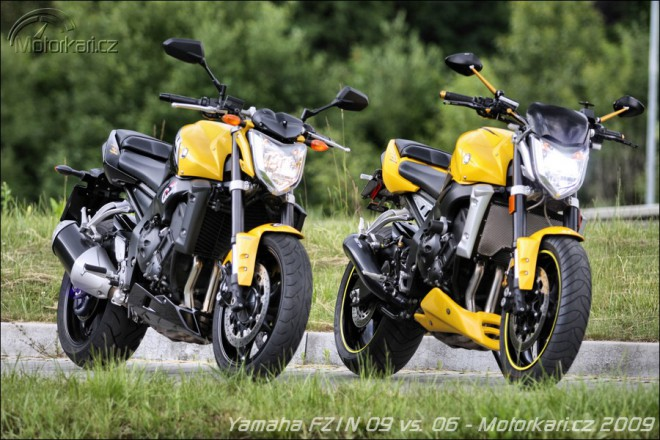 Yamaha FZ1N ABS 09 vs. 06