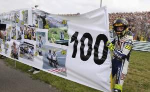Rossiho 100. vítìzství v Grand Prix