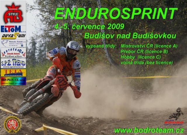 Pozvánka na Endurosprint Ostrava