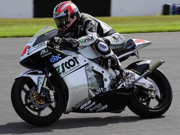 Grand Prix Velké Británie - 250 ccm, závod