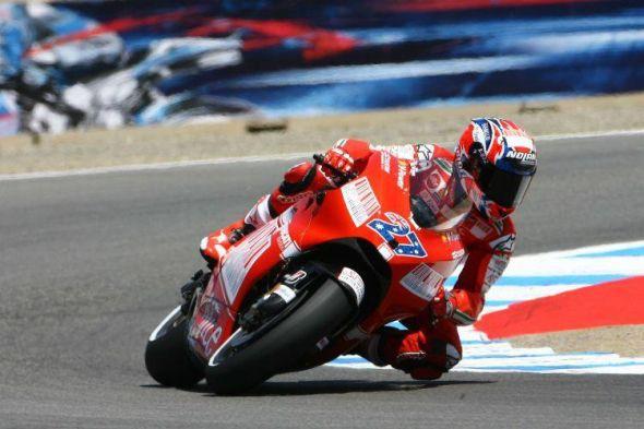 """Srovnání Stonera a """"zbytku svìta"""" na Ducati"""