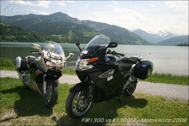 BMW K1300GT vs Yamaha FJR1300