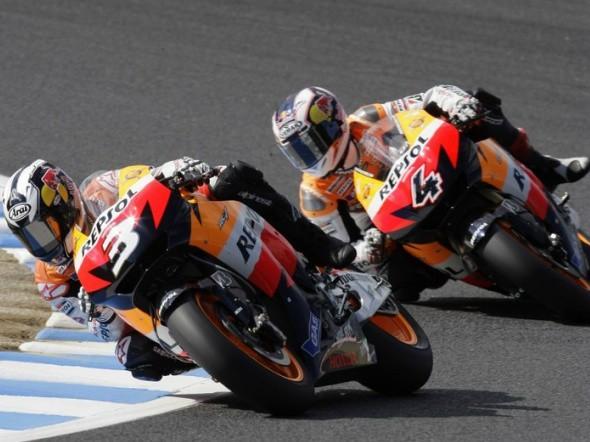 Honda nadále s Pedrosou a Doviziosem