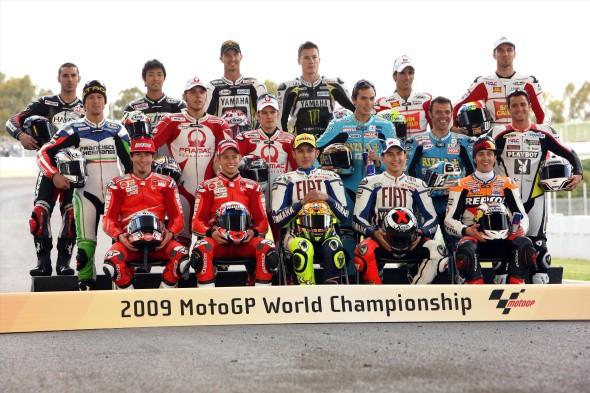 Pøedbìžné složení týmù MotoGP 2010