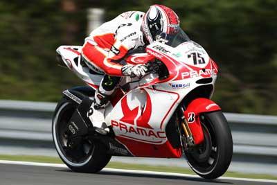 Pasini jel poprvé motocykl tøídy MotoGP