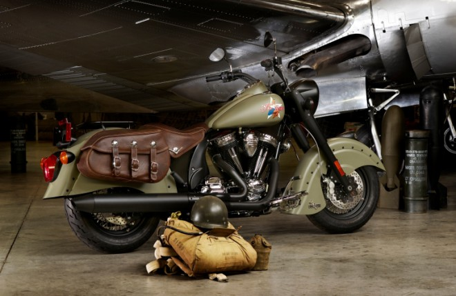 Indian Chief Dark Horse a Bomber