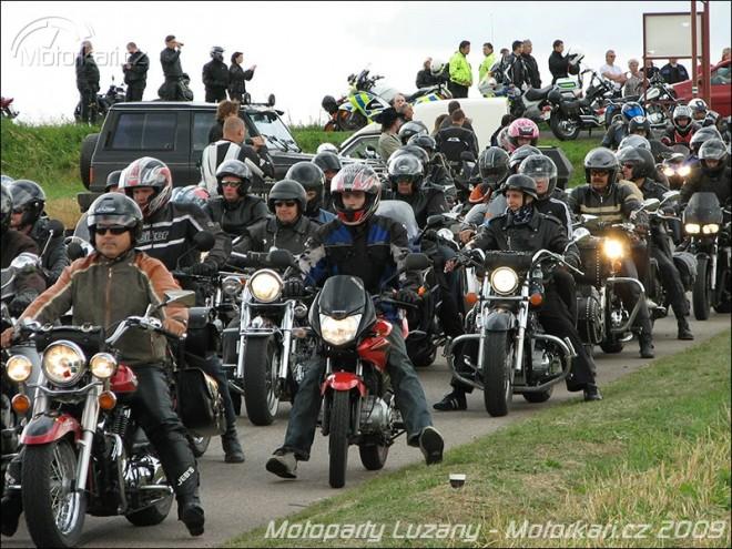 Motopárty Lužany 2009