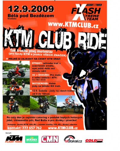 KTM CLUB RIDE vol.3 - 3.CZ KTM SRAZ