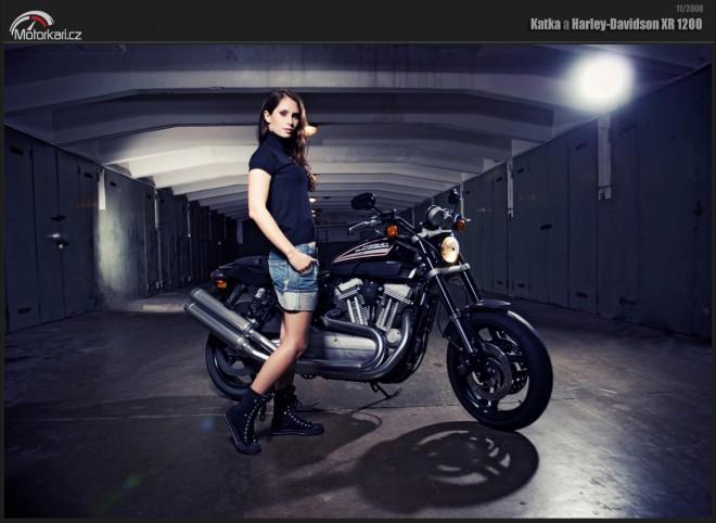 Když holky sedlají motorky