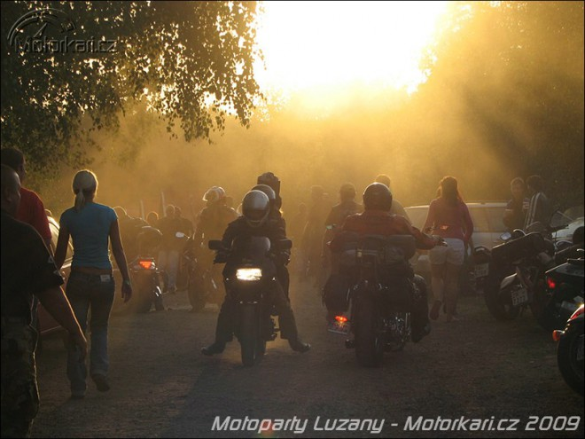 Motoparty Lužany 2009