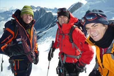 Barbera a Pedrosa zdolali Mount Blanc