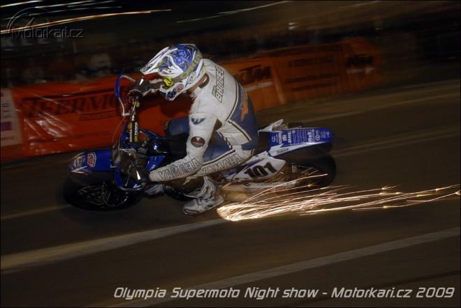 Olympia Supermoto Night Show 2009