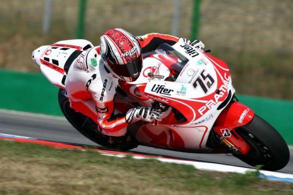 Mattia Pasini opìt v sedle motocyklu Pramac Ducati