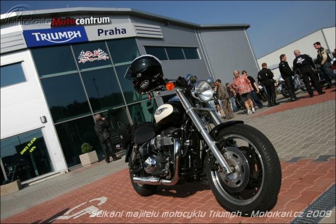 Setkání majitelù motocyklù Triumph
