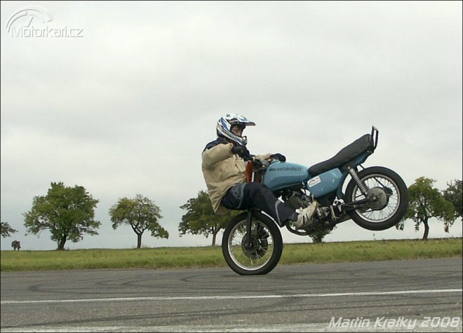 Stuntrider Martin Kr�tk�