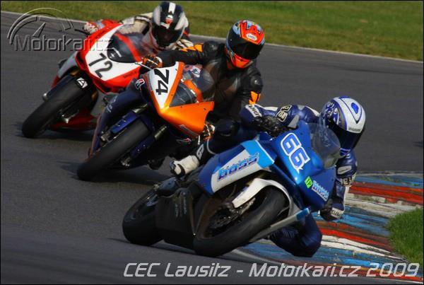 Finále za èárou-šestý závod CEC 2009
